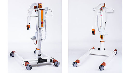 Patient and belt lift assembly